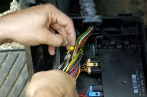 how to repair the comfort control module (ccm) for the volkswagen, Wiring diagram
