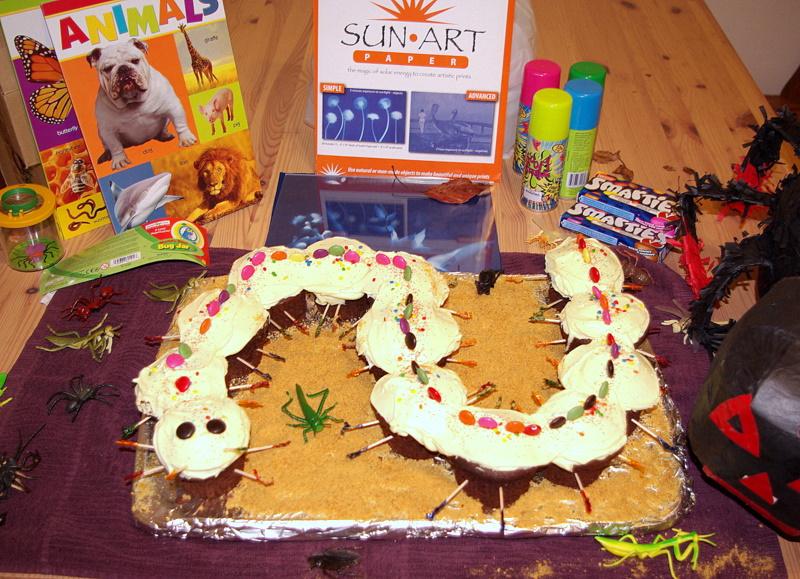 Bug Birthday Party Food Ideas