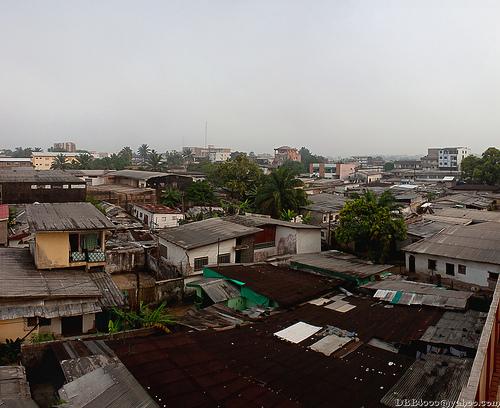 Douala city scene