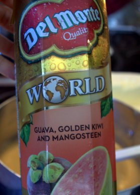 Del Monte World juice: Guava, Golden Kiwi and Mangosteen