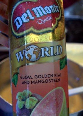 Del Monte World juice: Guava, Golden Kiwi and Mangosteen